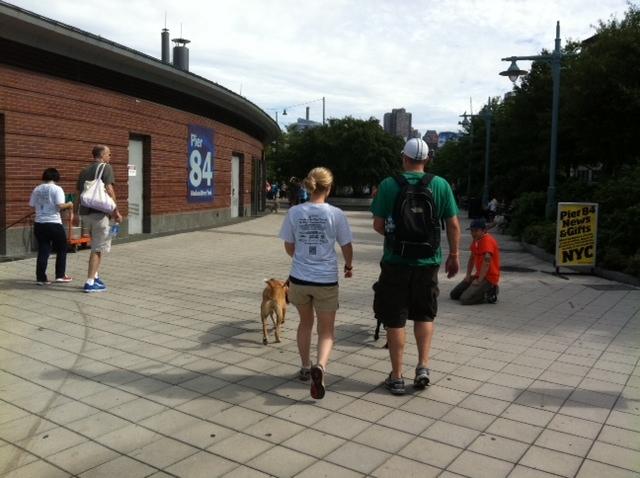Amber Best Friends Walk laura john 1oct11